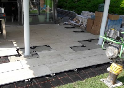 Terrassenerweiterung